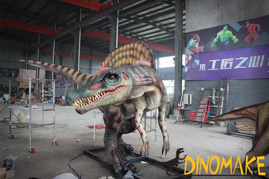 6m robotic spinosaurus statue