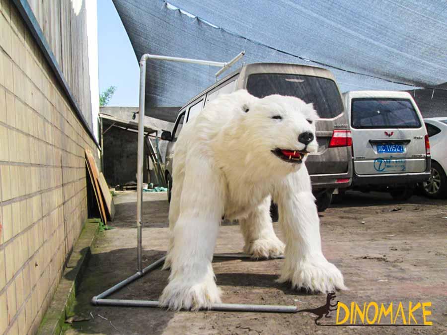 Animatrnic Polar Bear Costume