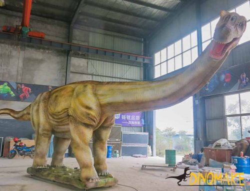 The Largest Argentinosaurus Dinosaur Statue