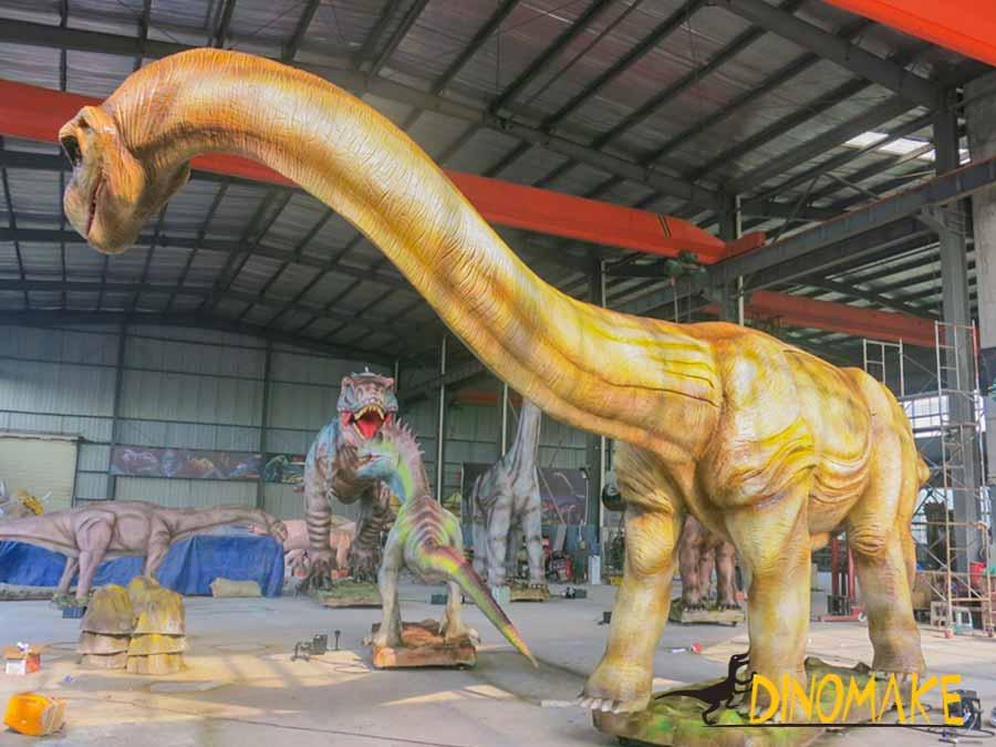 giant dinosaur statue