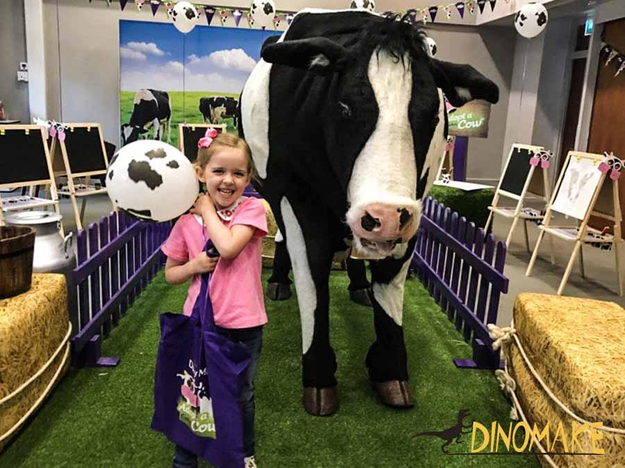 Animatronic Cow