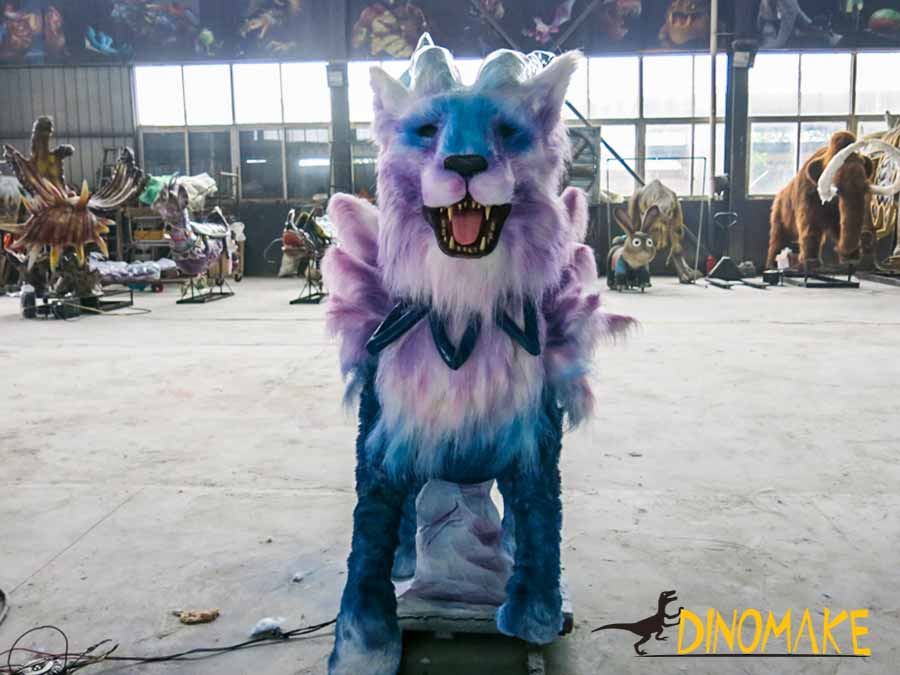 Nine tail fox animatronic Creatures