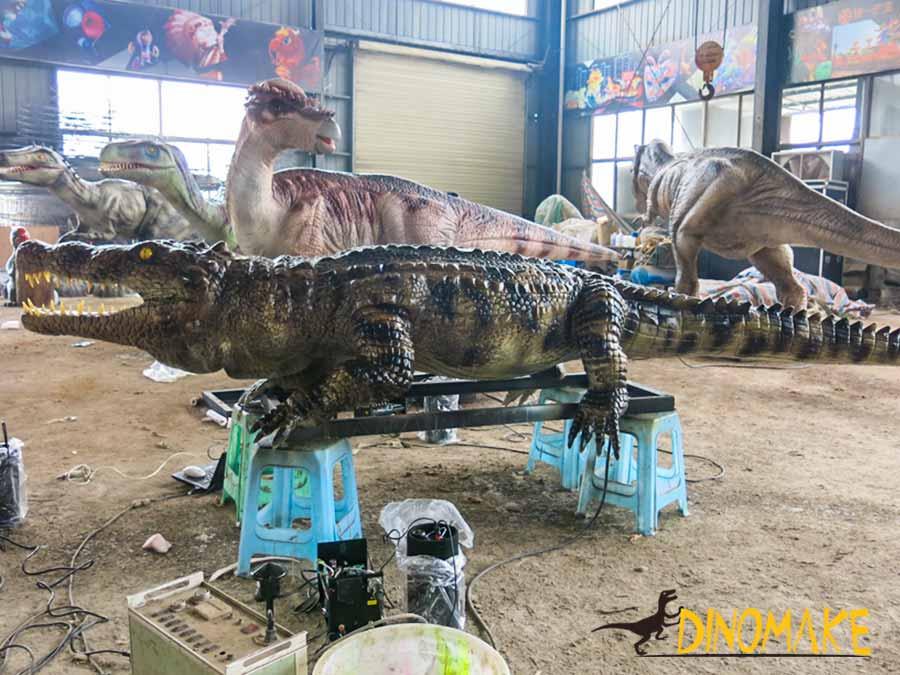 Animatronic Crocodile