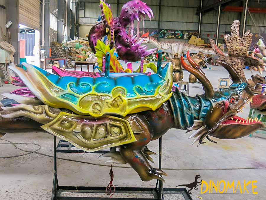 Animatronic Monster Carousel