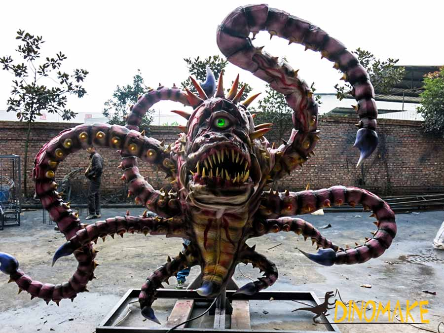 Animatronic Octopus Monster