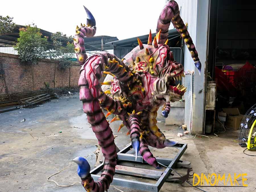 Animatronic Octopus Monster