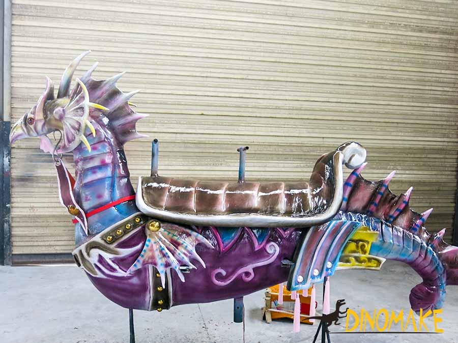 Animatronic Seahorse Carousel