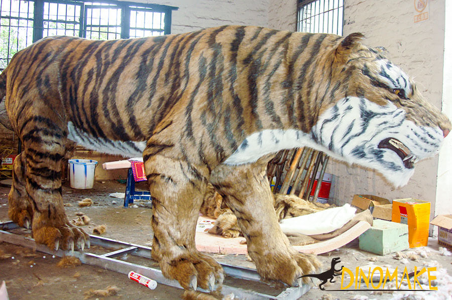 tiger animatronic