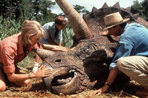 Triceratops in sick