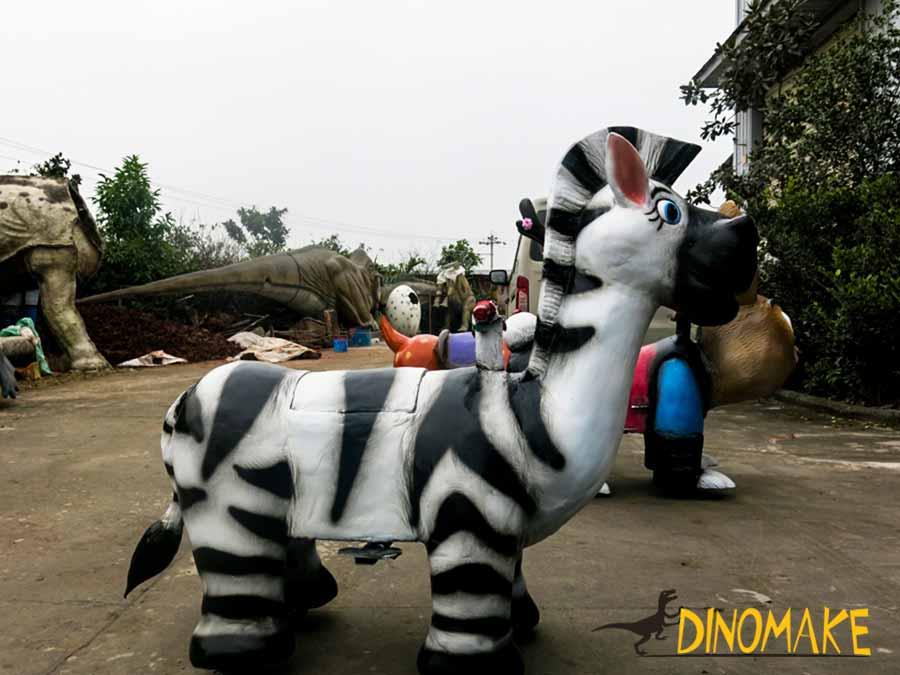 Zebra Scooter