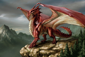 Dragon in Western