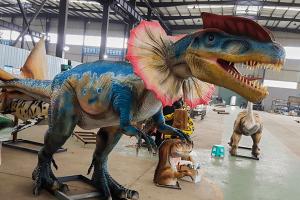 Animatronic Dilophosaurus