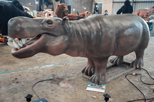 Animatronic Hippo