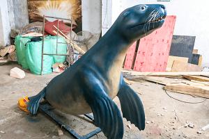 Animatronic Sea Lion