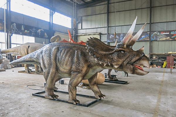 Animatronic Triceratops