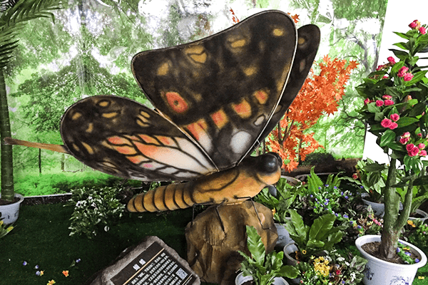 Animatronic butterfly
