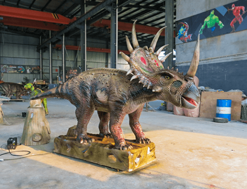 Styracosaurus Laying Egg