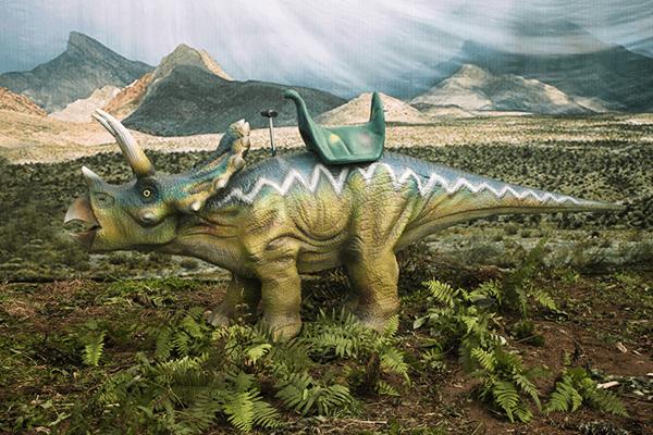 Triceratops ride