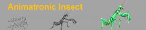Animatronic Insect