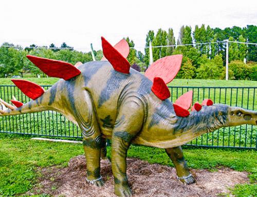 Fiberglass Stegosaurus