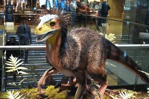 Animatronic Velociraptor for shopping mall