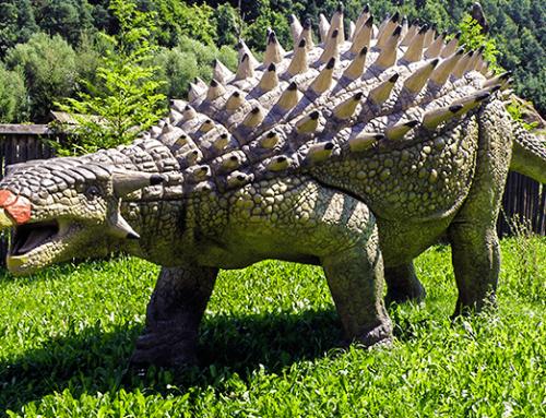 Fiberglass Ankylosaurus