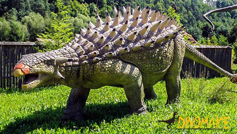 ankylosaurus sculpture