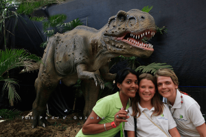 Animatronic T-rex for Theme Park