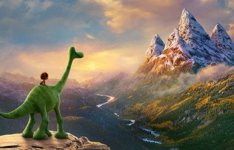 Animation film the good dinosaur