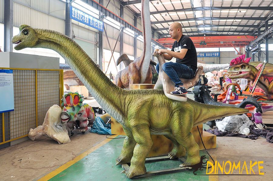Brachiosaurus ride for amusement park