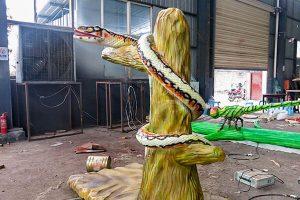 animatronic snake for park