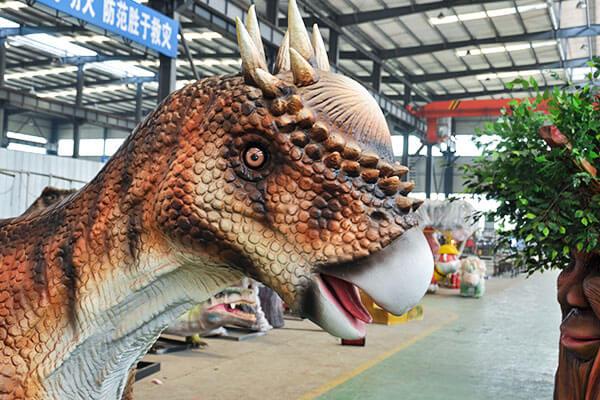Pachycephalosaurus ride