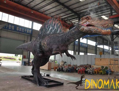 Newly Created Animatronic Spinosaurus Is Coming