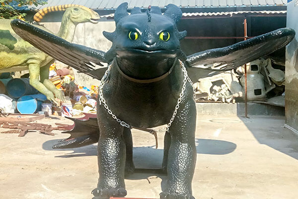animatronic toothless