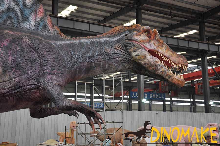 Details of Spinosaurus