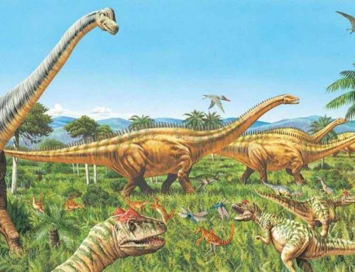 Why do dinosaurs dominate the Mesozoic?
