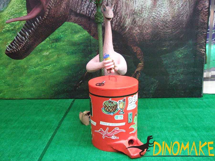 dinosaur beverage vending machine