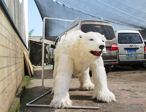 Animatrnic Polar Bear Costume