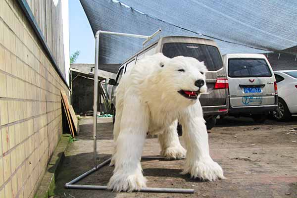 Animatrnic-Polar-Bear-Costume