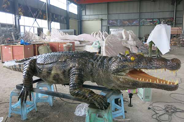 Animatronic Crocodile