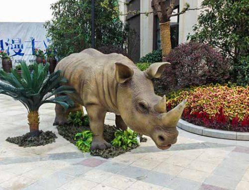 Animatronic Rhino