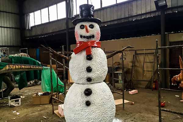 Animatronic Snowman