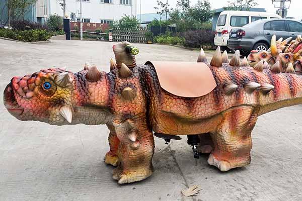 Ankylosaurus Scooter