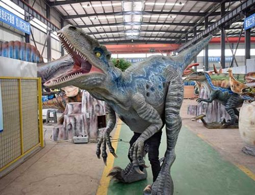Classical Velociraptor Blue Costume