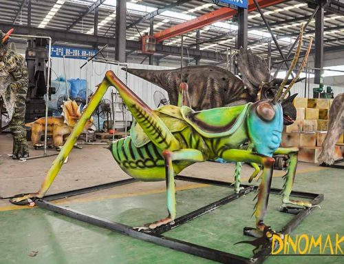 Animatronic Insects For Museum