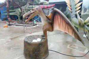 Pterosaur statue