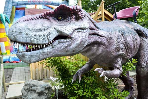 T rex ride