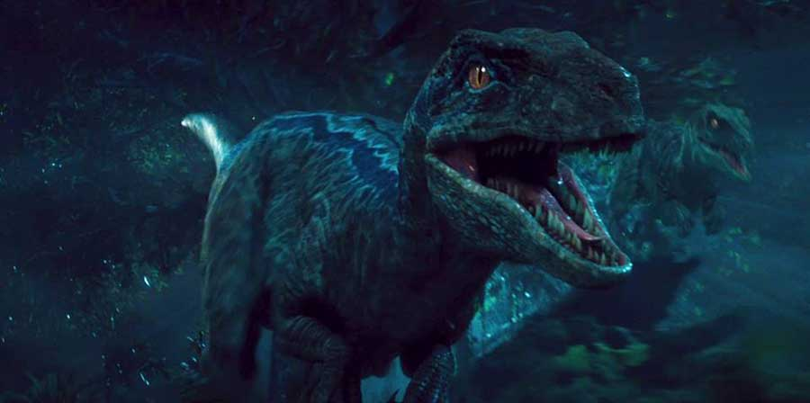 The Blue Velociraptor