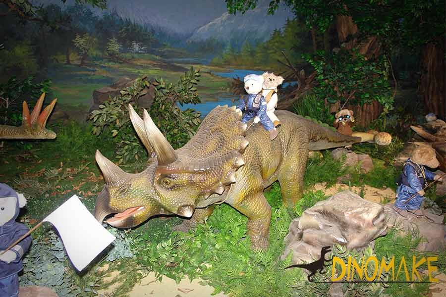 Triceratops-and-teddy-bear