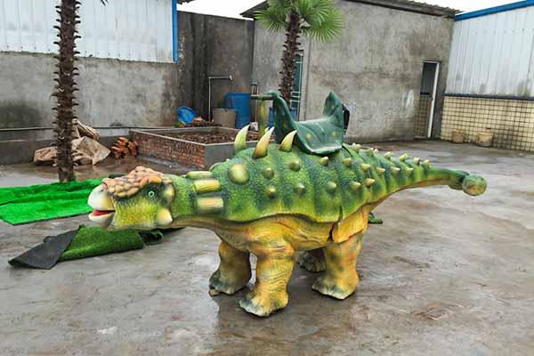 Walking Ankylosaurus